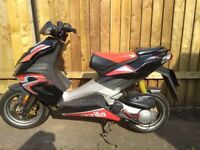 Aprilia sr50 sports scooter, moped Aprillia SR50 project spares or repairs