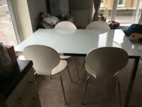 Lovely ikea table and chairs