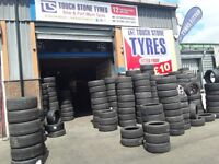Part worn tyres/ 255/40/17- 245/40/17- touch stone tyres rm138dr