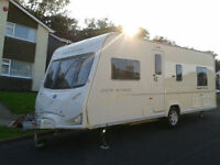 2008 Bailey Senator Indiana Series6-FSH-Fixed Bed-4Berth