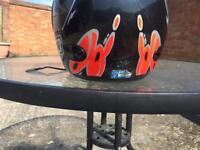 Childs crash helmet