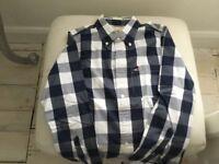 Boys /men's Hollister check shirt PLUS Topman check shirt