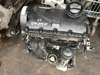 07 VW TOURAN GOLF PASSAT 1.9 TDI ENGINE COD BXE GOOD WORKING AND TESTED