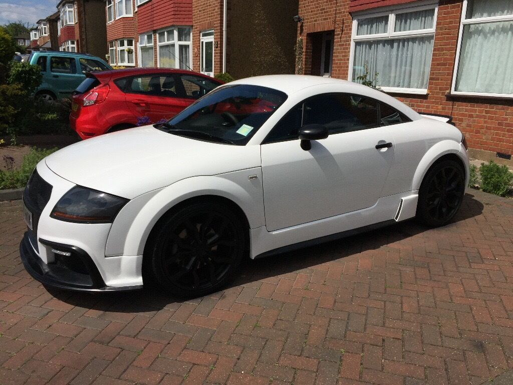 audi tt quattro 225 bhp 1 8 p turbo manual white stunning one off bodykit in enfield. Black Bedroom Furniture Sets. Home Design Ideas