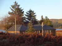 Seasonal couple for fishing lodge on Loch Doon, Scotland - manage boating, fishing and lodge