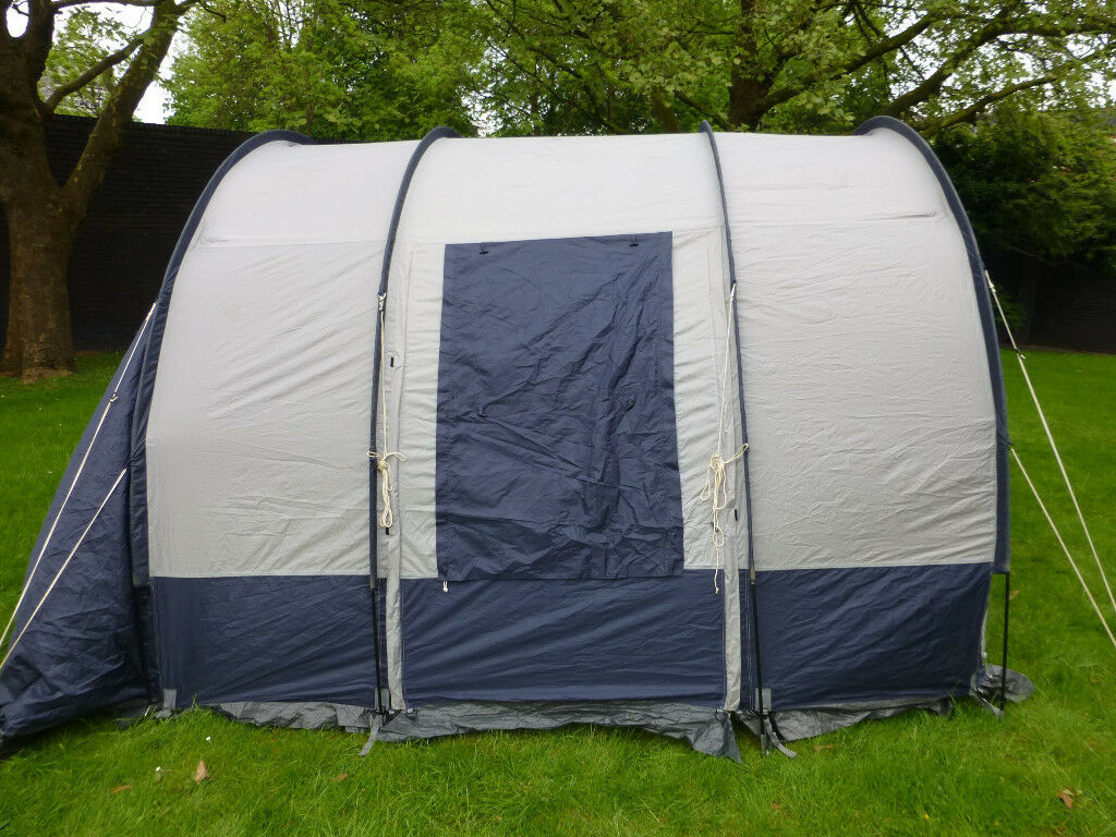 DRIVE-AWAY TUNNEL AWNING, STARCAMP MOTO, GREY NYLON, WITH ...