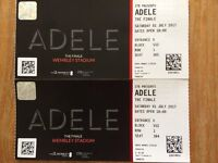 Adele The Finale Concert Tickets - Saturday 1st July Wembley Stadium