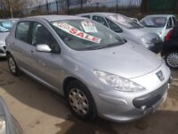 Peugeot 307 Xline,5 dr hatchback,full MOT,2 previous owners,2 keys,nice looking car,drives very well