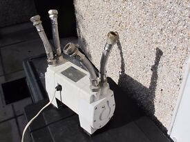 Mira PPT3 Twin Shower Pump with flexi pipes