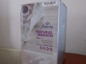 DUVET-Double: Duck feather filling - Duo 15 Tog (10.5+4.5) NEW, UNUSED!