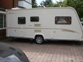 Bailey Senator Vermont 2006 series 5 complete with PORCH AWNING