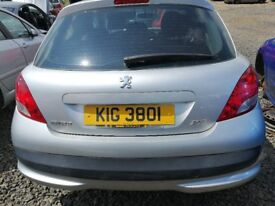 Peugeot 207 2011 Silver - For parts only!