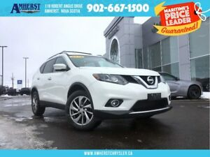 2014 Nissan Rogue 4X4 - LEATHER, BACKUP CAM, HEATED SEATS