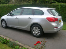 2013 Vauxhall Astra Estate Exclusive CDTI ecoFLEX (Stop Start)