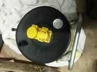 50m x 110v double socket extension reel