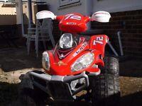 toys FEBER brutale 12 volt quad bike .
