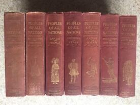 Peoples of All Nations - 7 Volumes Edited by J.A. Hammerton