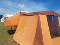 Hard top trailer tent