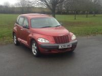 Chysler PT cruiser touring edition A, AUTOMATIC, recent cambelt not golf, astra, focus, picasso, a3