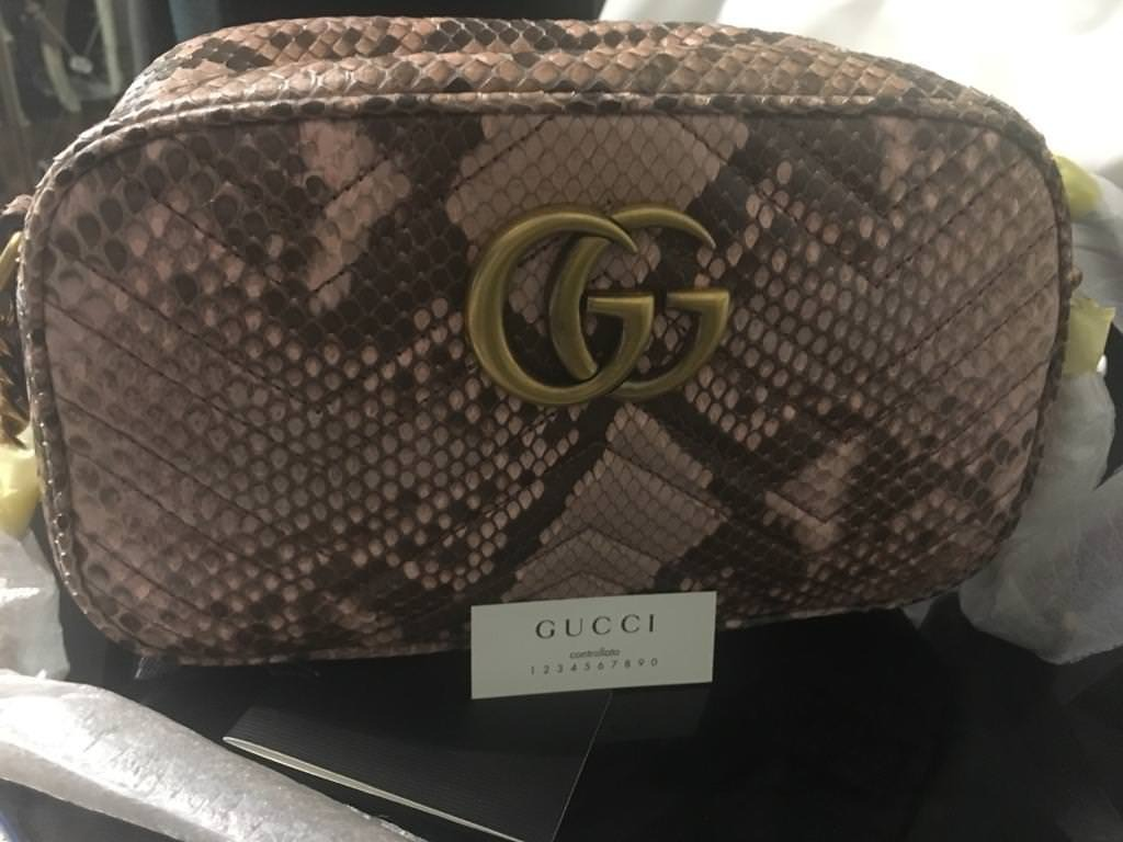 3707481e1e1f Brand New Authentic GG Marmont chain shoulder bag | in Leyton ...