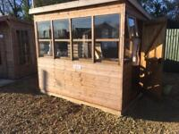 8x6 Sunflower Potting Shed