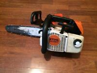 Stihl ms200t too handle chainsaw