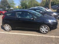Black Ford Fiesta style 2010