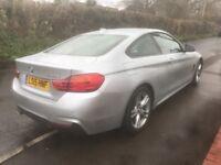 BMW 420d msport pro media package.