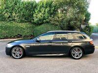 "2013 BMW 520D M Sport Auto Touring - Massive spec, 19"" alloys, FSH, Pro Nav, Nappa leather etc"