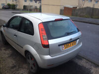 Ford Fiesta 1.4 Zetec - Silver - Will Sell But Need Swap For Van Asap