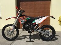 Ktm exc 300 2009 64hrs from new, road registered