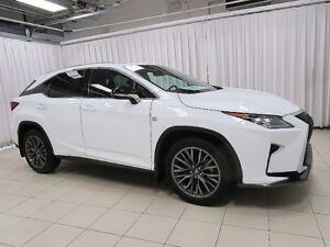 2017 Lexus RX 350 FEAST YOUR EYES ON THIS BEAUTY!! F SPORT EDTN