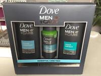 Men's Dove care set brand new