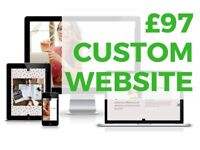 Cheap Custom Website £97 | Local Business | Professionals | Online Stores