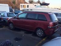 BREAKING VAUXHALL ZAFIRA B CAR PARTS SPARES 05-2014