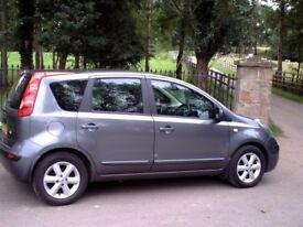2006 Nissan Note Se 1.4 5 Door petrol car grey
