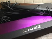 Cloud Nine Hair Curling Wand. Used 3 times only. As new.