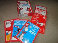 CAT IN THE HAT SET OF SIX DR SEUSS BOOKS IN BOX