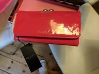 Red Patent Ted Baker Matinee Purse