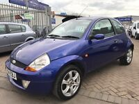 2004 54 FORD KA SPORT SPORTY LOOKING CAR SUPERB DRIVE CHEAP BARGAIN WITH NEW MOT READY TO GO !
