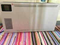 Free standing electric heater