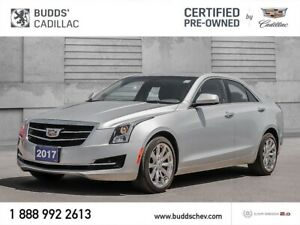 2017 Cadillac ATS 2.0L Turbo 2.99% for up to 60 months O.A.C.!