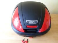 GIVI E370 top box and top plate - DUNFERMLINE