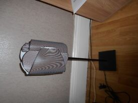 TALL BLACK AND WHITE LAMP FROM IKEA **REDUCED PRICE**