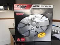 "New wheel trim set 14"""