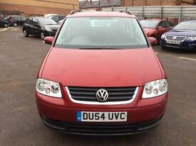 VOLKSWAGEN TOURAN .TIME BELT IS CHANGED, Mileage 105 k ,FULL SERVICE HISTORY