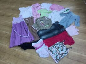 Bundle of girls' clothes for age 9-11years; charity sale
