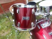 Peavey red drum kit great sound used but good condition hours of fun £150