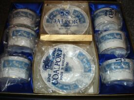 Coalport Revelry Boxed Set of Six Coffee Cups & Saucers