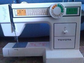 Toyota sewing machine spares/repair